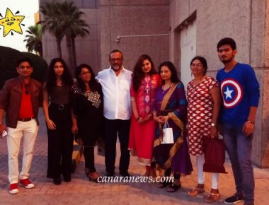 'DHAND' Tulu Movie records house full show once again in Dubai on 3rd August