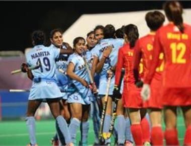 Indian women hockey team ranked 10th in world after triumph