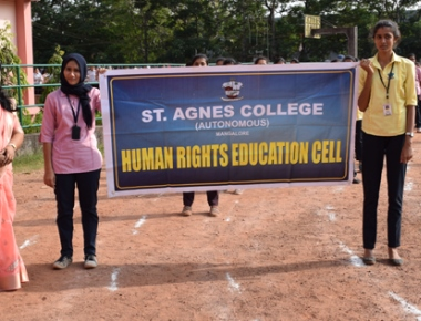 Human rights solidarity march held at St Agnes College