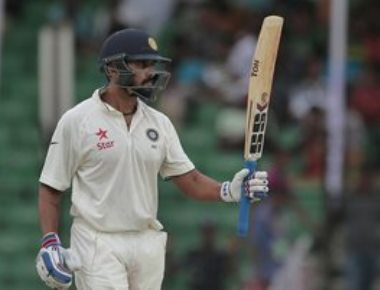 India end at 462/6 in rain-marred day