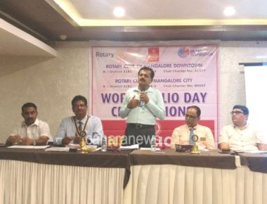 """Rotary's """"End Polio"""" movement for Polio free world is commendable-Dr. Ramakrishna Rao"""