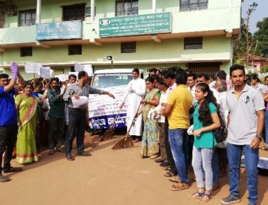 ICYM Madanthyar unit organises Swachh Bharath Abhiyan
