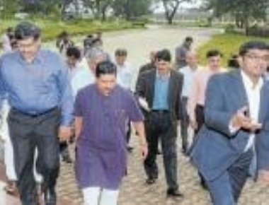HRD team to inspect alternative land for IIT