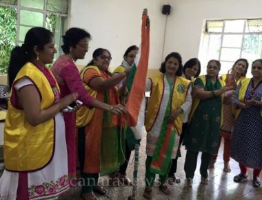69th Independence Day was celebrated with Differently Abled Special Children Of Sevadaan Special Children