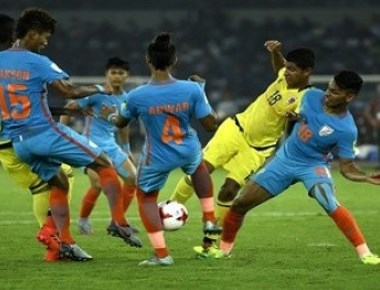 India lose to Colombia in FIFA U-17 World Cup