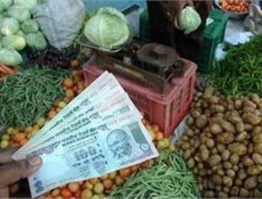 Inflation rises to (-)0.73% in Dec on costlier food items