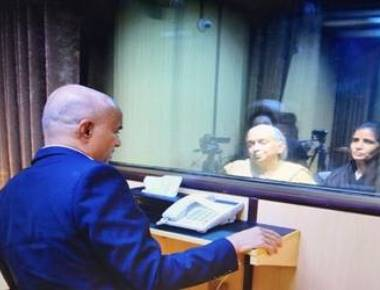Jadhav meets mother, wife for 40 minutes