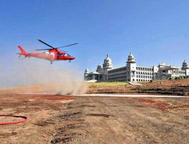 Karnataka CM's helicopter ride to meet newly-weds raises eyebrows