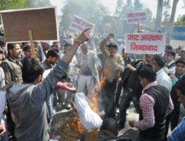 Jat stir: Tension in Jat dominated areas, CM to visit Rohtak