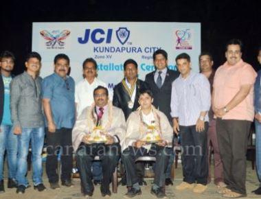 Installation ceremony of JCI Kundapura City 2016