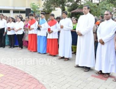 Saint Anthony's Ashram Jeppu holds 'Way of the Cross'