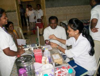 Blood Donation Camp held at St. Jude Church Jerimeri