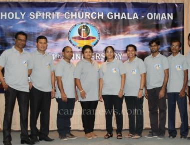 Oman:  'Jezu Maka Apoita' prayer group from the Holy Spirit Church of Ghala celebrated their 14th anniversary