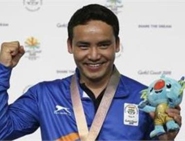 Sizzling Jitu shoots gold, young Mehuli claims silver