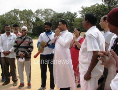 Don Bosco Parish holds Rolling Trophy Cricket Matches & Serenade