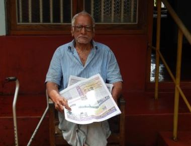 106 years lively young guy – Joseph Menezes!!