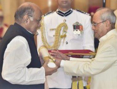 Joshi, Pawar, Sangma conferred Padma Vibhushan