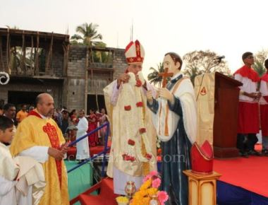 Annual Feast of Juje Vaz in Kundapur