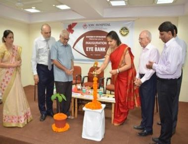 Dr Jyothi Shetty Inaugurates 'Eye Bank Services' at KMC Attavar