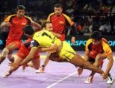 From a rustic sport, kabaddi enters elite drawing rooms