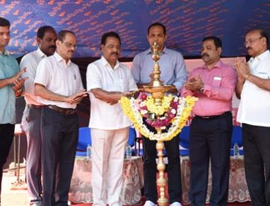 District level Kabaddi tournament held