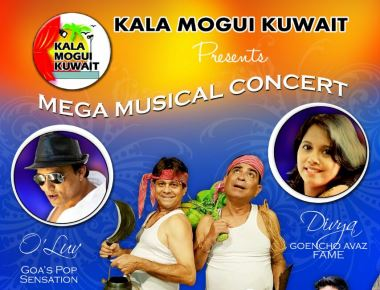 "Kala Mogui Kuwait  presents mega musical concert ""LOVE YOU GOA"""
