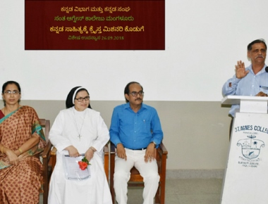 Special lecture on contribution of Christian Missionaries to Kannada literature held