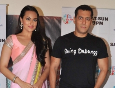 Salman, Sonakshi recreate 'Karan Arjun' magic