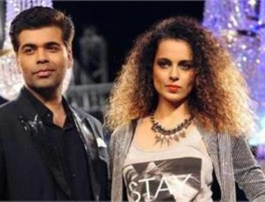 I regret it: Karan Johar on Kangana joke at IIFA