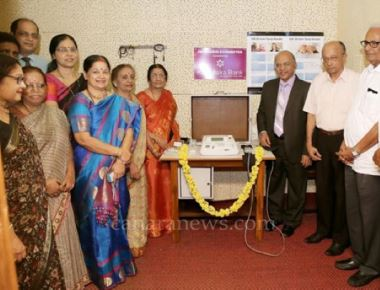 Karnataka Bank donates Impedance Audiometer