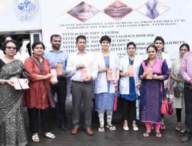 Kasturba Hospital's 'Vitiligo Awareness Campaign' flagged off at Manipal