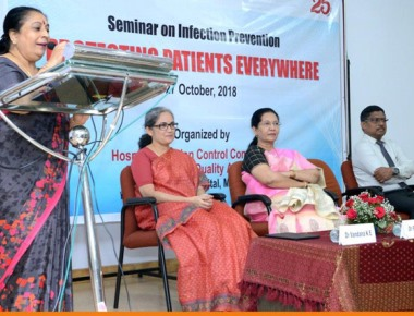 Kasturba Hospital observes International Infection Prevention Week