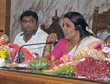 Mayor Kavita Sanil thanks people of Mangaluru