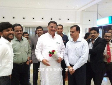 KNRI Team Welcomed Karnataka Education Minister Tanvir Seth