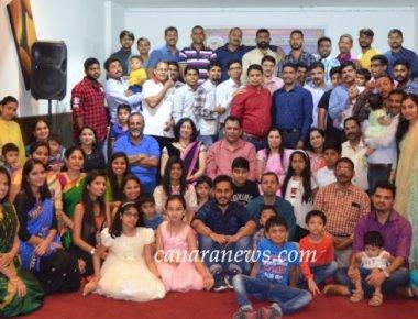 'KaDaM' honours Intl. Aryabhata 2017' Awardee, President Dinesh Devadiga in Dubai