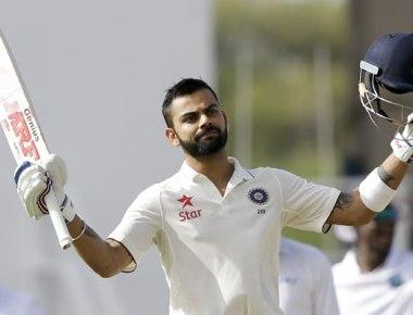 Virat Kohli keeps England at bay