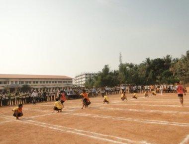 Srinivas Institute of Technology holds Kho-Kho tournament