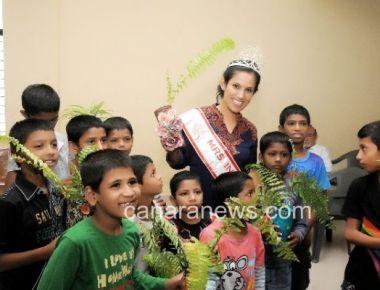 Mrs. India 2015 Priyanka Khurana Goyal joins hands with Bal Snehalaya for tree plantation drive on Earth Day