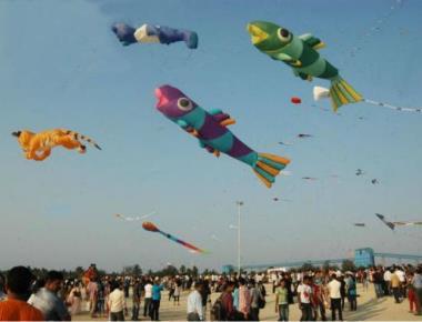 Kite festival at Panambur beach from tomorrow