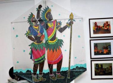 Team Mangalore for kite festival in Dieppe, France