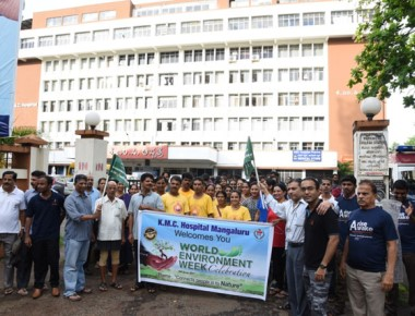 Swacch Attavar Abhiyan marks KMC Hospital's silver jubilee