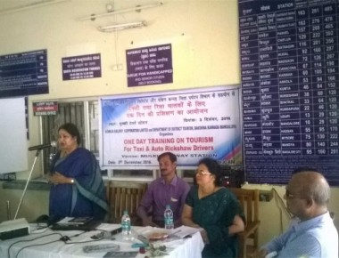 Konkan Railway organises workshop for Auto, Taxi drivers at Mulky