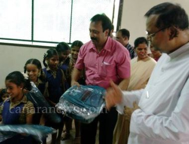 KORWA distributes school bags to needy children at Kallianpur
