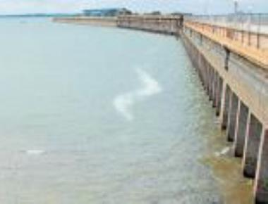 Dipping KRS water level has farmers worried