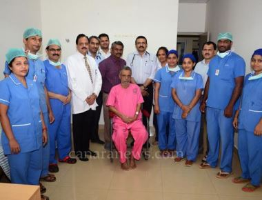 70-year-old treated from AAA at KS Hegde Hospital