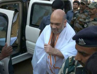 People of Karnataka want a change in government, Amit Shah tells in Kukke Subrahmanya