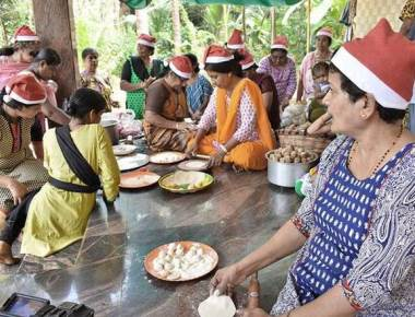Mass preparation of 'kuswar' ahead of Christmas