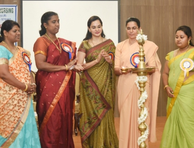 Laxmi Memorial College of Nursing holds CNE on 'Nurse Expertise'