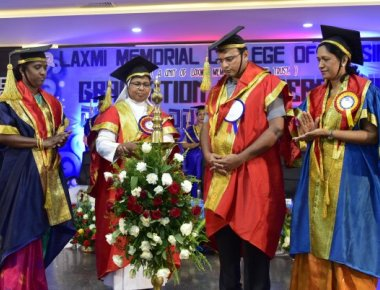 Laxmi Memorial College of Nursing celebrates graduation, annual day