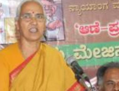 Lalitha Naik gets life threat from Udupi man